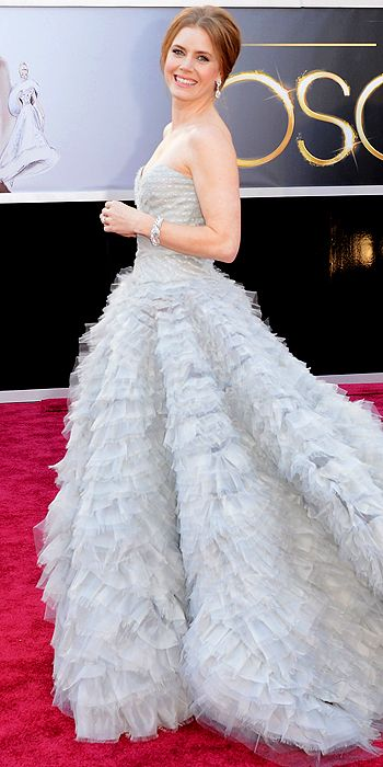 amy adams, oscars, red carpet, style, hair