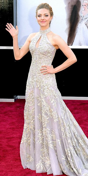 oscars, red carpet, style, hair,  amanda seyfried