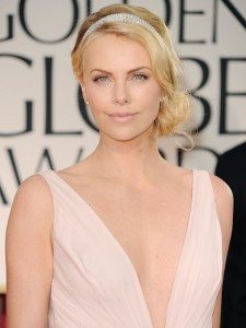 hair predictions, 2013 oscars, charlize theron, glamorous hair