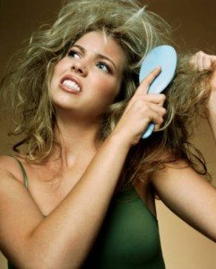 hairstyling tip of the day, prevent damage, damaged hair, healthy hair