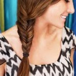 fishtail, how to, braids, fishtail braid, hairstyle