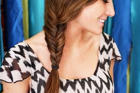Trending now: Fishtail Braids!
