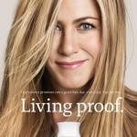 jennifer aniston, living proof, new line, hair secrets
