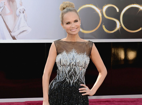 oscars, red carpet, style, hair,  kristin chenoweth