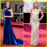 oscars, red carpet, style, hair, good morning america, robin roberts, lara spencer