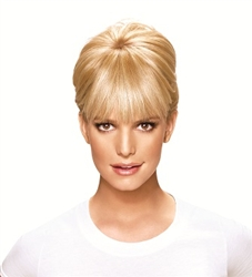 Jessica Simpson, HairDo, Bangs, extensions