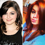 ariel winter, modern family, red hair, hair color, color change