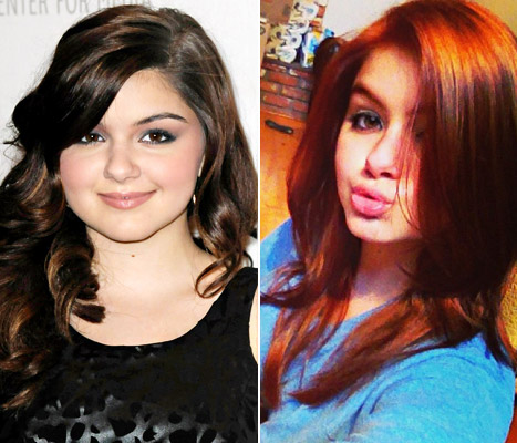 Ariel Winter Makes a Change!