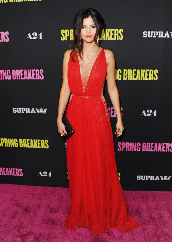 Selena Gomez Looking All Grown Up at the Spring Breakers Premiere!
