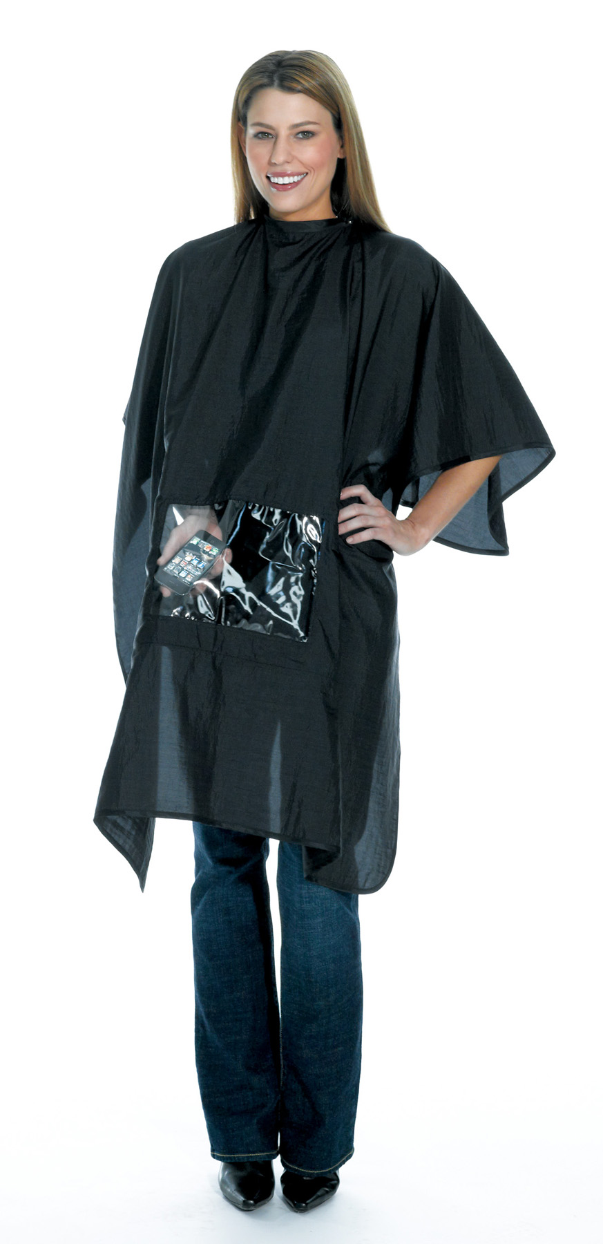 icape, hair, capes, salon capes, cutting capes, tablet capes