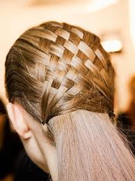 basket weave hair, hairstyles, prom hair, basket weave prom hair
