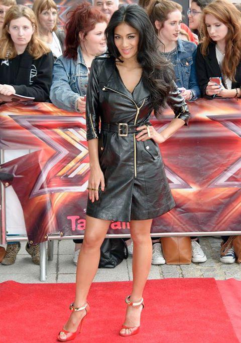 nicole scherzinger, flawless hair, nicole scherzinger hair, UK x factor, xfactor premiere