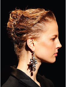 Up, Up and Away! Elegant Up-do Trends