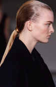 so low, low ponytail, low-slung hair, hair trends, ponytail trends, redken