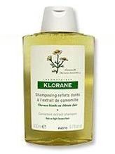klorane, camomile, camomile extract shampoo, brightening shampoo, highlighting shampoo