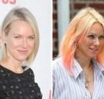 naomi watts, pink hair, naomi watts pink hair, naomi watts hair