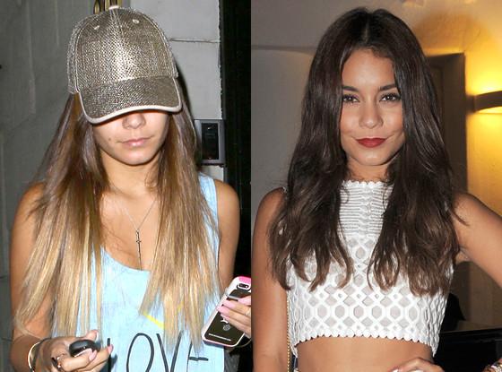 vanessa hudgens, vanessa hudgens new ombre, ombre hair, vanessa hudgens ombre, vanessa hudgens hair