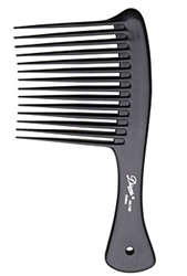 dont rush with a brush, comb dont brush, wide tooth comb, combing wet hair, hairstyling tip of the day