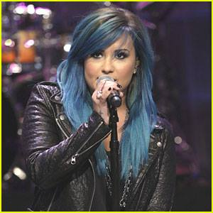 Demi Lovato's Feeling Blue!