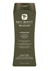daily beauty, daily beauty for wildlife, moisturizing shampoo, hairstyling tip of the day. hair tip, shampoo tips