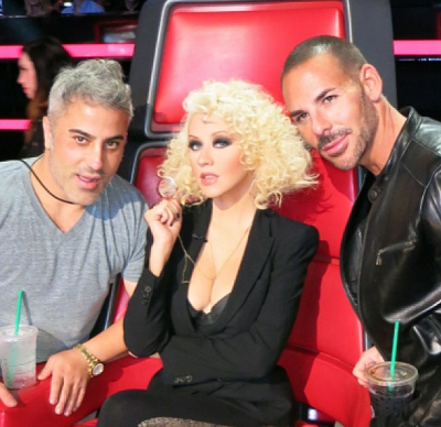 Christina Aguilera's Gorgeous Retro Curls on The Voice!