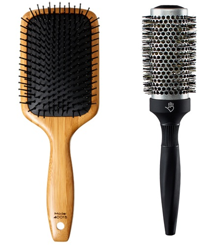 Product Review of the Day: Sam Villa Thermal Styling Brush & Paddle Brush!