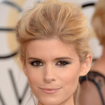 kate mara, golden globes hair, kate mara golden globes hair, kate mara hair, kate mara blonde