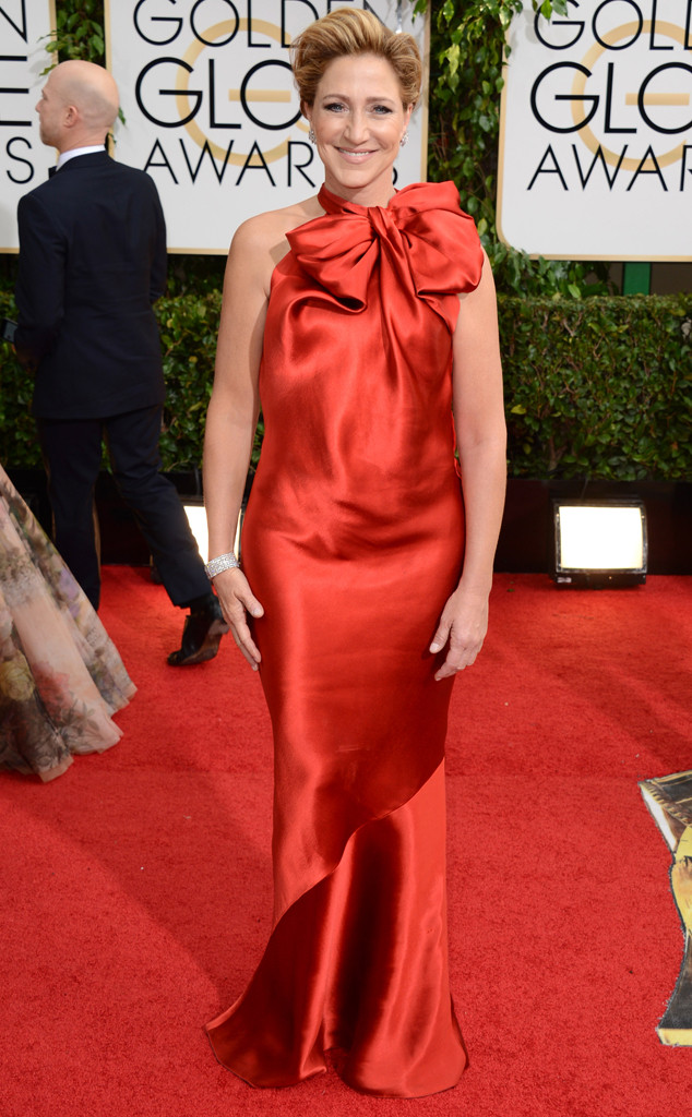 edie falco, edie falco golden globes, edie falco golden globe hair