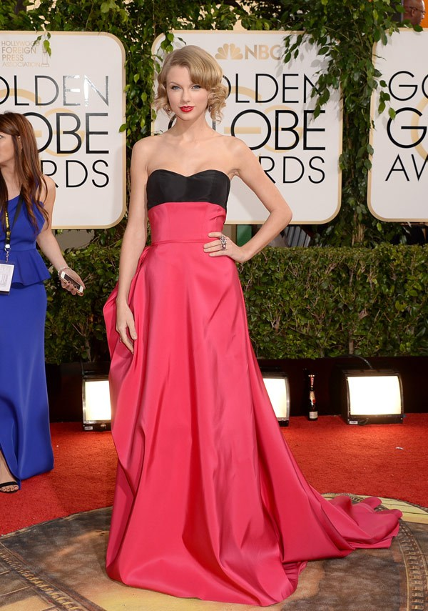 taylor swift, taylor swift golden globe, taylor swift golden globe hair