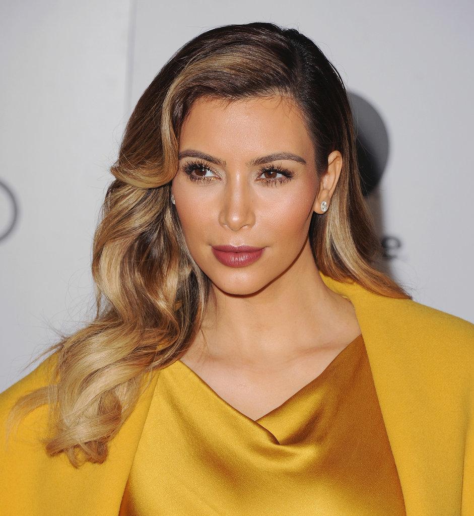 3974159df770b How to Get Kim Kardashian s Big Sexy Waves