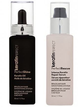 KeratinPerfect Shine Serum & Oil