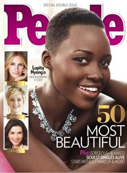lupita, mary kay, lupita nyong'o, how to lupita nyong'o make up, lupita make up, femme fatale lashes, mary kay make up, false eyelashes