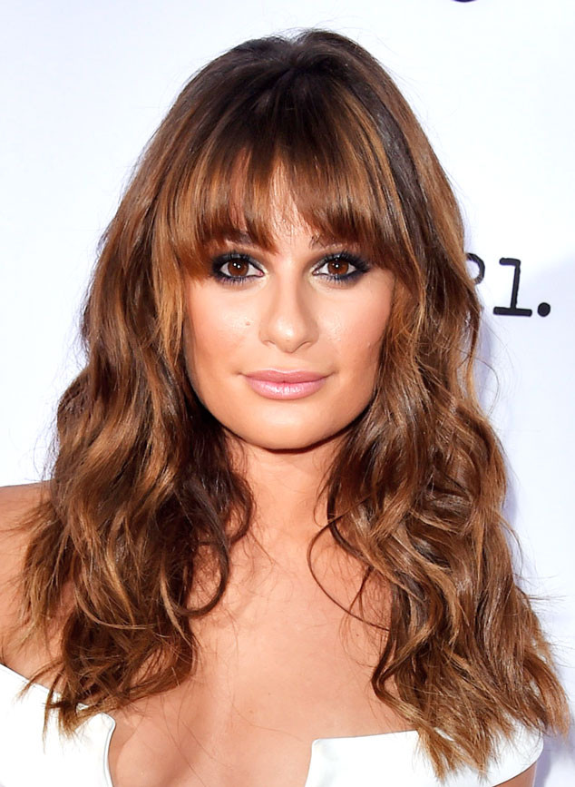 lea michele hair, lea michele, lea michele perfect hair, lea michele fall haircolor, lea michele hair color, hair color, fall hair color, hair color for fall, fall hair inspiration