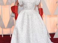 lady gaga, lady gaga at the oscars, lady gaga hair, lady gaga red carpet, lady gaga oscar hair